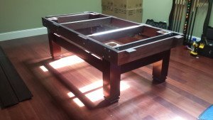 Correctly performing pool table installations, Long Beach California