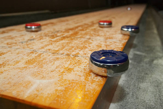 SOLO® Shuffleboard Movers Long Beach, California.